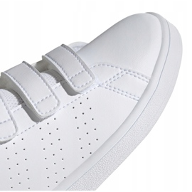 Adidas Advantage C Jr EF0221 shoes white 1