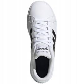 Adidas Grand Court K Jr EF0103 shoes white 1