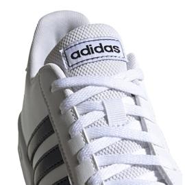 Adidas Grand Court K Jr EF0103 shoes white 2