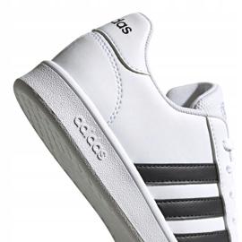 Adidas Grand Court K Jr EF0103 shoes white 3