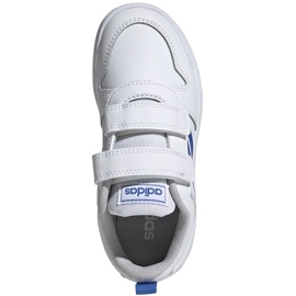 Adidas Tensaur C Jr EF1096 shoes white blue 1