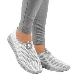 Gray SJ1890-2 women's sports shoes grey 1