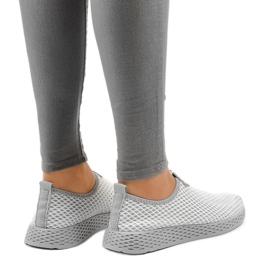Gray SJ1890-2 women's sports shoes grey 3