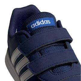 Adidas Vs Switch 2 Cf Jr EG5139 shoes white navy 2