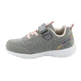 Light KangaROOS 02051 gray sneakers pink grey 2