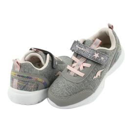 Light KangaROOS 02051 gray sneakers pink grey 4