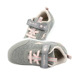 Light KangaROOS 02051 gray sneakers pink grey 6