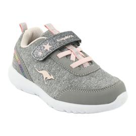 Light KangaROOS 02051 gray sneakers pink grey 1