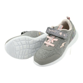 Light KangaROOS 02051 gray sneakers pink grey 5
