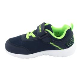 Light KangaROOS 02050 navy blue sports shoes green 2