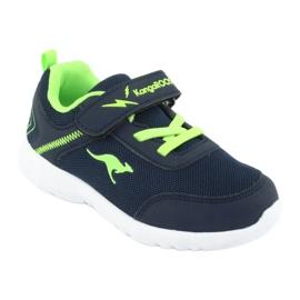 Light KangaROOS 02050 navy blue sports shoes green 1