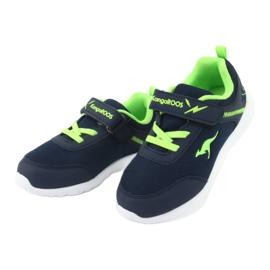 Light KangaROOS 02050 navy blue sports shoes green 3