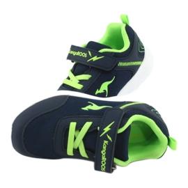 Light KangaROOS 02050 navy blue sports shoes green 5
