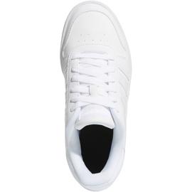 Adidas Hoops 2.0 K Jr F35891 shoes white 1
