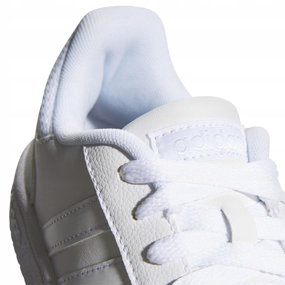 amortiguar Cuervo seguro  Adidas Hoops 2.0 K Jr F35891 shoes white - ButyModne.pl