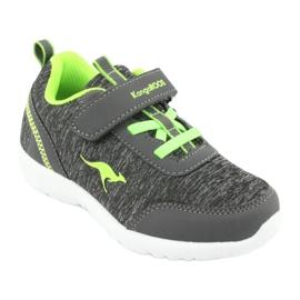 Dp008Light KangaROOS 02051 gray sports shoes grey green 1