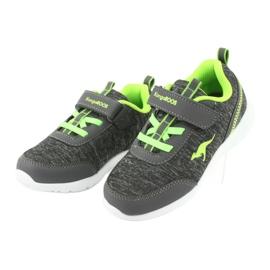 Dp008Light KangaROOS 02051 gray sports shoes grey green 3