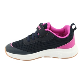 KangaROOS sports shoes with Velcro 18507 navy / pink 2