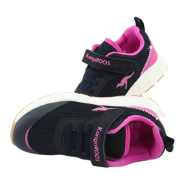 KangaROOS sports shoes with Velcro 18507 navy / pink 6