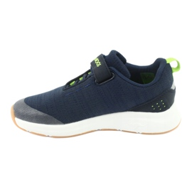 KangaROOS sports shoes with Velcro 18508 navy / lime green 2