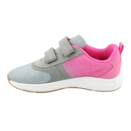 KangaROOS sports shoes with Velcro 18506 gray / neon pink grey 2