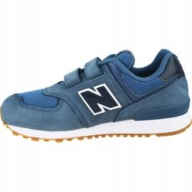 New Balance Jr YV574PRN shoes blue 1