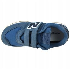 New Balance Jr YV574PRN shoes blue 2