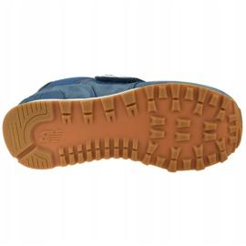 New Balance Jr YV574PRN shoes blue 3