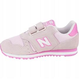 New Balance Jr YV373SP shoes pink 1