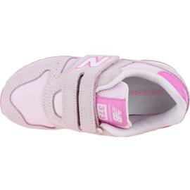 New Balance Jr YV373SP shoes pink 2