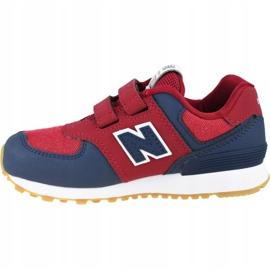 New Balance Jr YV574DMI shoes red 1