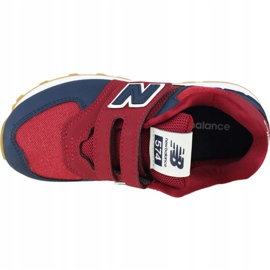 New Balance Jr YV574DMI shoes red 2