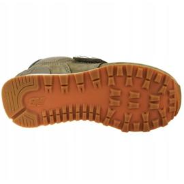 New Balance Jr YV574PRB shoes brown 3