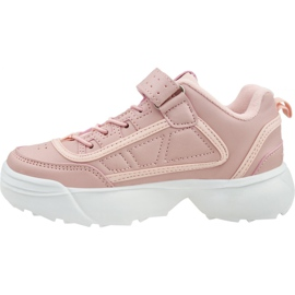 Kappa Rave Nc K Jr 260782K-2110 shoes pink 1