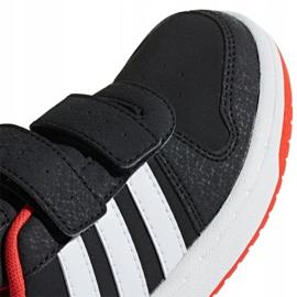Adidas Hoops 2.0 Mfc C Jr B75960 shoes white black 3