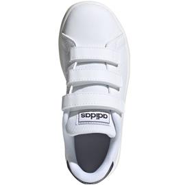 Adidas Advantage C Jr FW2589 shoes white 1
