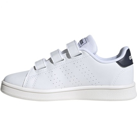 Adidas Advantage C Jr FW2589 shoes white 2