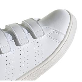 Adidas Advantage C Jr FW2589 shoes white 3