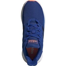 Adidas Duramo 9 Jr EG7906 shoes blue 1