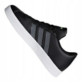 Adidas Vl Court 2.0 Jr F36381 shoes black 3