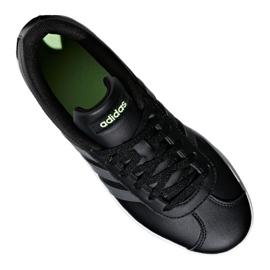 Adidas Vl Court 2.0 Jr F36381 shoes black 5