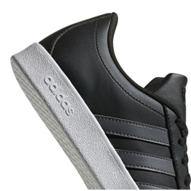 Adidas Vl Court 2.0 Jr F36381 shoes black 6