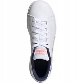 Adidas Advantage K Jr EG2000 shoes white 1