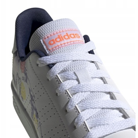 Adidas Advantage K Jr EG2000 shoes white 3