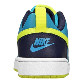 Nike Court Borough Low 2 Jr BQ5448-400 shoes blue 2