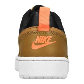 Nike Court Borough Low 2 Jr BQ5448-004 shoes black yellow 1