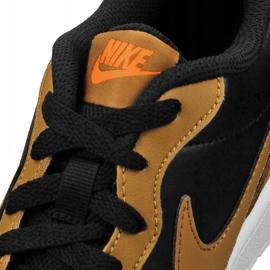 Nike Court Borough Low 2 Jr BQ5448-004 shoes black yellow 2