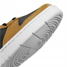 Nike Court Borough Low 2 Jr BQ5448-004 shoes black yellow 3
