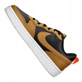 Nike Court Borough Low 2 Jr BQ5448-004 shoes black yellow 5