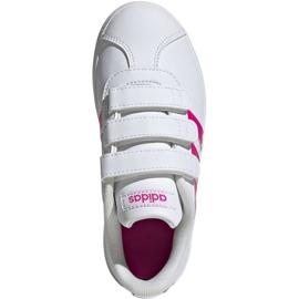 Adidas Vl Court 2.0 Cmf C Jr EG3880 shoes white 1